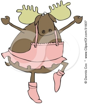 31837-Masculine-Moose-Ballerina-Dancing-Ballet-In-A-Pink-Tutu-Up-On-Tippy-Toes