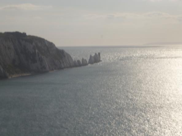 The Needles at Alum Bay